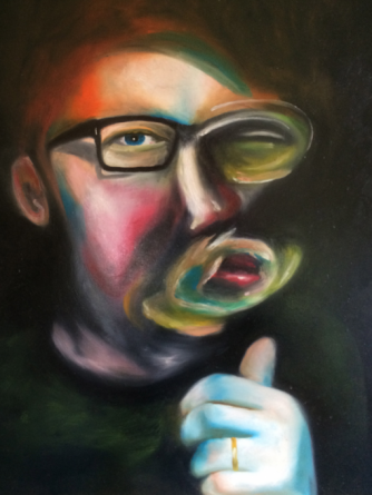 Vic Reeves Art - Self Portrait