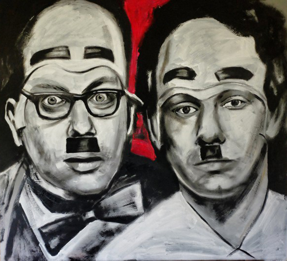 The Stotts - Limited edition print by Vic Reeves
