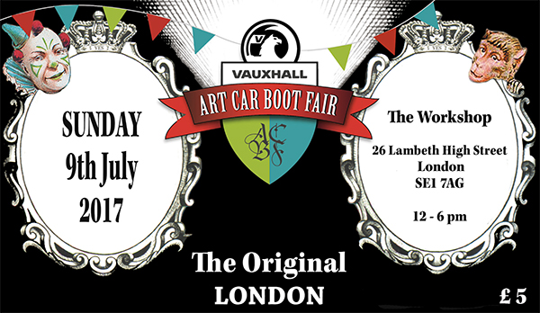 The Art Car Boot Fair 2017