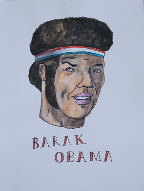 Barak-Obama-Vic-Reeves-Art