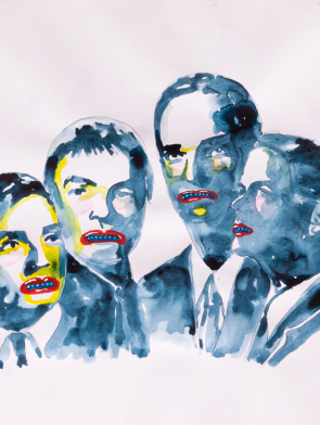 Kraftwerk Watercolour - Original