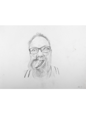 XL-SELF-PORTRAIT-PENCIL